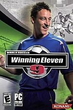World Soccer Winning Eleven 9 PC With Manual Perfect Condition
