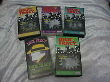 DICK TRACY 5 VHS VIDEO DICK TRACY MEETS GRUESOME SERIAL 1 EPISODES RALPH BYRD