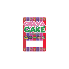Guava Cake Cali Tin Labels Mylar Bag Stickers