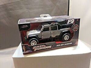Jada Fast & Furious 9 2020 Jeep Gladiator 1/32 Scale Must See