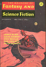 Magazine of Fantasy & Science Fiction-12/70-Larry Niven, Ron Goulart, Aickman