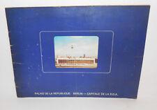 Bildband Broschur Palast der Republik DDR Berlin 1976 ! (H2