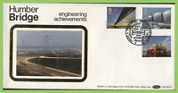 G.B. 1983 Engineering Achievements set on Benham First Day Cover, Hull