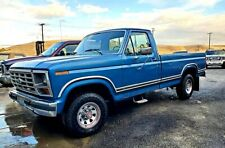 1986 Ford F150 XLT 4x4 with 302ci V8 and automatic