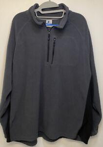 Vintage Starter Mens 2XL Grey/black Fleece