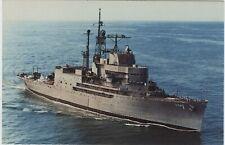 USS NORTON SOUND AVM 1 Navy Ship Postcard