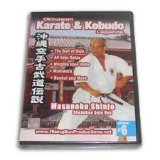 Okinawan Shobukan Goju Ryu Karate Kobudo Legends #6 Dvd Masanobu Shinjo Rs-0612