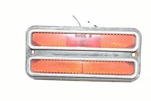 68-72 Chevrolet GMC Pickup Truck Rear Side Marker Light Corner Turn Signal Lamp