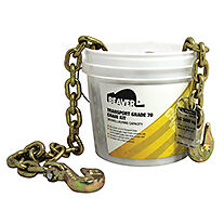 BLACK RAT HEAVY DUTY DRAG CHAIN G70 9m x 8T & BOX