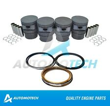 SIZE STD Piston & Piston Rings Fits Ford Expedition Mustang Explorer 4.6L 5.4L