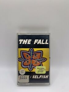 THE FALL CODE SELFISH CASSETTE TAPE (EX MANCHESTER LIBRARY COPY) Phonogram 1992