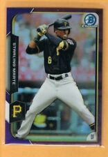 2015 Bowman Chrome Purple Refractor Starling Marte /250 Pirates #54