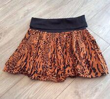 Boho ethnique imprimé animal jupe