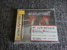BRAND NEW Sega Saturn Layer Section II JP sealed nuevo precintado estrenar taito