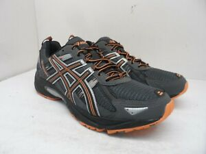 ASICS Men's GEL-Venture 5 Athletic Running Sneakers Grey/Orange Size 12M