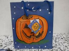 Halloween Bags Assorted With Handles Package Of 12 New!!!