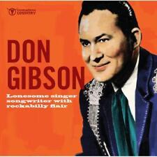 Gibson Don - Lonesome Singer Songwriter NEW CD