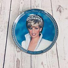 Franklin Mint Tribute to Princess Diana Princess of Wales Plate Ht1619