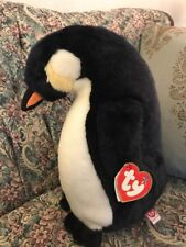 """New 2007 Ty Classic Admiral Penguin - Large Buddy size 14"""" With Tags  #M8"""