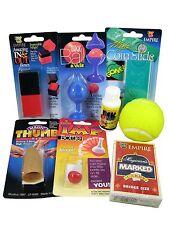 STARTER MAGIC KIT - Cards Ball & Vase Thumb Tip Coin Slide Beginner Great Value