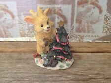 Holiday Collection Reindeer Figurine Christmas Decor By World Bazaars
