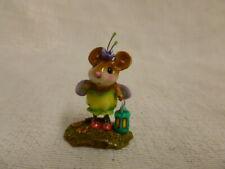 Wee Forest Folk Little Glowbug Halloween Edition M-442 Mouse Costume Pumpkin