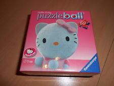 puzzle ball ravensburger 60 pièces HELLO KITTY avec accessoires à clipser