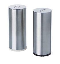 IKEA Plats Salt & Pepper Shaker Set of 2 Stainless Steel