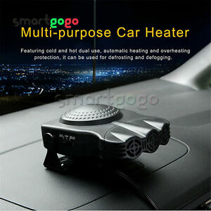 Car Heater Vehicle 3-Outlet 2 in1 Portable 30S Heating Defrosts Defogger BSG