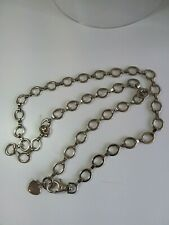 Silver Toned Chain Belt