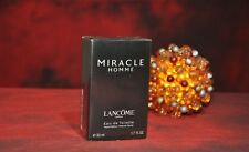LANCOME MIRACLE HOMME EDT 50ml., DISCONTINUED, VERY RARE, NEW in BOX, SEALED