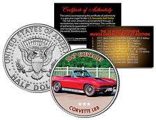 1967 CHEVROLET CORVETTE L88 Expensive Auction Muscle Car JFK Half Dollar US Coin