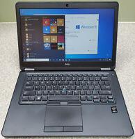 Dell Latitude E7450 Intel i7-5600U 2.60GHz 16GB 500GB Win 10 Pro & Dock Station