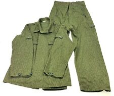 Vintage East German Army DDR GDR NVA Combat Uniform Pants + Jacket coat Cold War