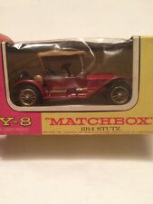 MATCHBOX Y-8 1914 STUTZ BOXED