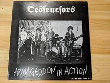 """RADICAL CHANGE RCLP 2 12"""" 33RPM '84 DESTRUCTORS """"ARMAGEDDON IN ACTION"""" EX/VG"""