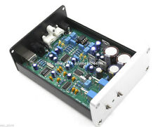 Finished WM8740 + DIR9001 DAC Board Support coaxial and USB input       R25