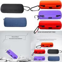 Silicone Case Cover Box for B o se SoundSport Free Wireless Bluetooth Headphone