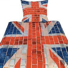 GREAT BRITAIN UNION JACK FAHNE Mikrofaser UNITED KINGDOM  Bettwäsche 135x200cm