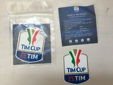 TOPPA PATCH BADGE TIM CUP 2016 COPPA ITALIA OFFICIAL UFFICIALE GOMMINA AUTENTICA