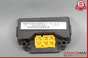 06-09 Mercedes X164 GL450 R350 E350 Seat Weight Sensor Control Module Right OEM