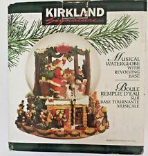"Kirkland Signature Musical Water Snow Globe #109619 ~ ""Here Comes Santa Claus"""