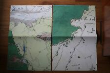 Map rpg Middle-Earth ICE MERP Iron Crown Tolkien mapa juego rol Señor Anillos