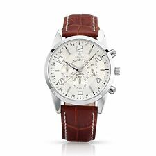 New High Quality Stainless Steel Leather Wristwatch Quartz Watches WACH-A002-20