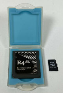 R4 Revolution Cartridge & 2GB Micro SD Memory Card Nintendo DS Game - Cart Only
