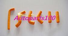 For KTM 400EXC 525EXC Radiator Orange Silicone Hose kit 2002-2006