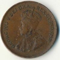 COIN / CANADA / 1 CENT 1929 / KING GEORGE V.  #WT7734