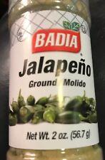Badia Ground Jalapeño Powder Green Chili 2 Ounces Exp 9/2023 Spice Seasoning