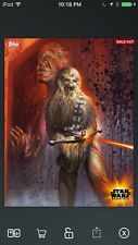 Topps Star Wars Digital Card Trader Chewbacca Essentials Insert