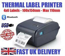 Thermal Label Printer, Barcode Printer Label Fits Zebra Labels, to 110mm